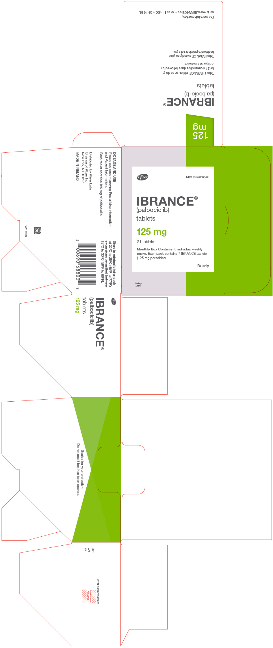 PRINCIPAL DISPLAY PANEL - 125 mg Tablet Dose Pack Carton
